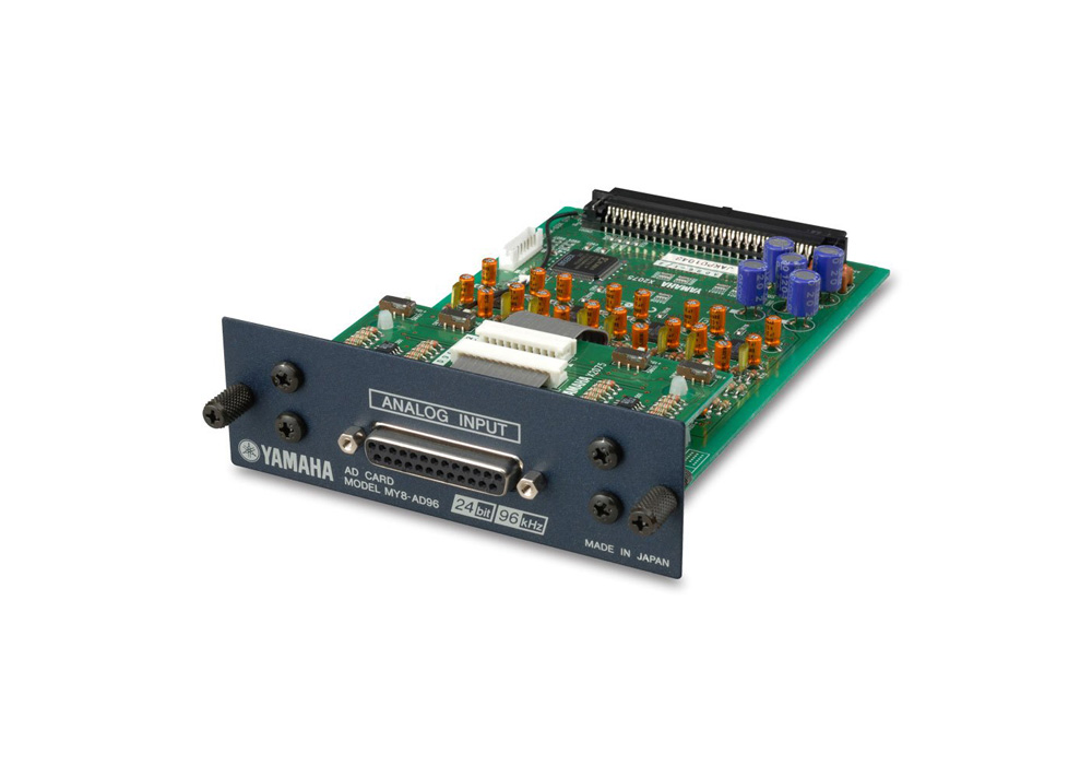 Yamaha MY8 AD96 8 Channel Analogue Input Card