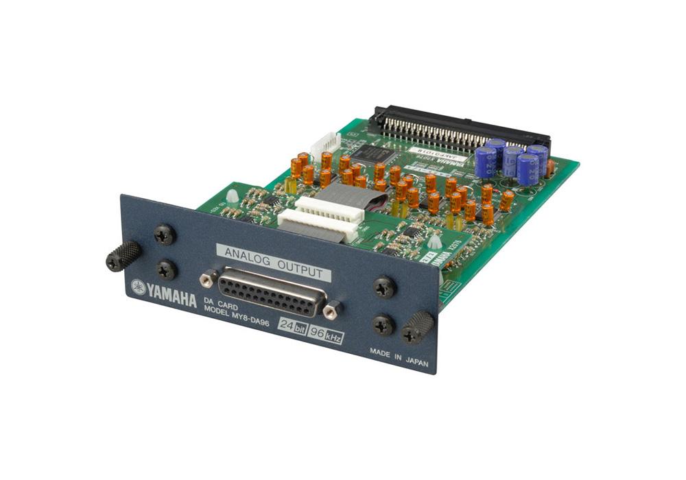 Yamaha MY8-DA96 8 Channel Analogue Output Card