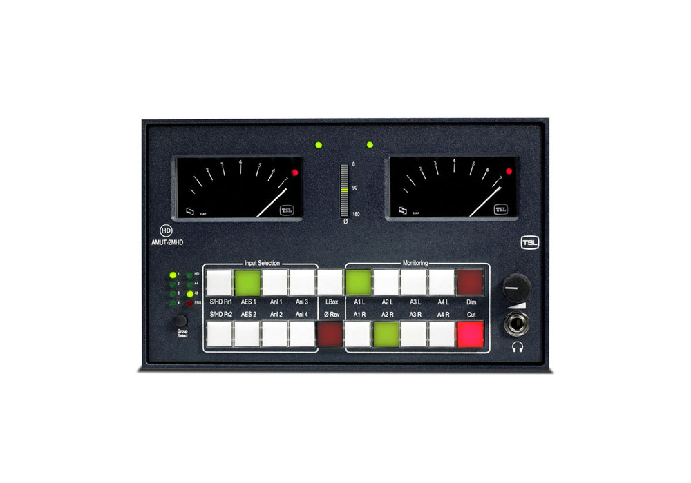 TSL AMUT-2MHD Digital Audio Monitoring Unit