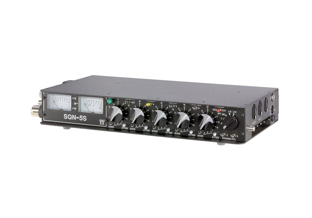 SQN-5S PPM Portable Audio Mixer