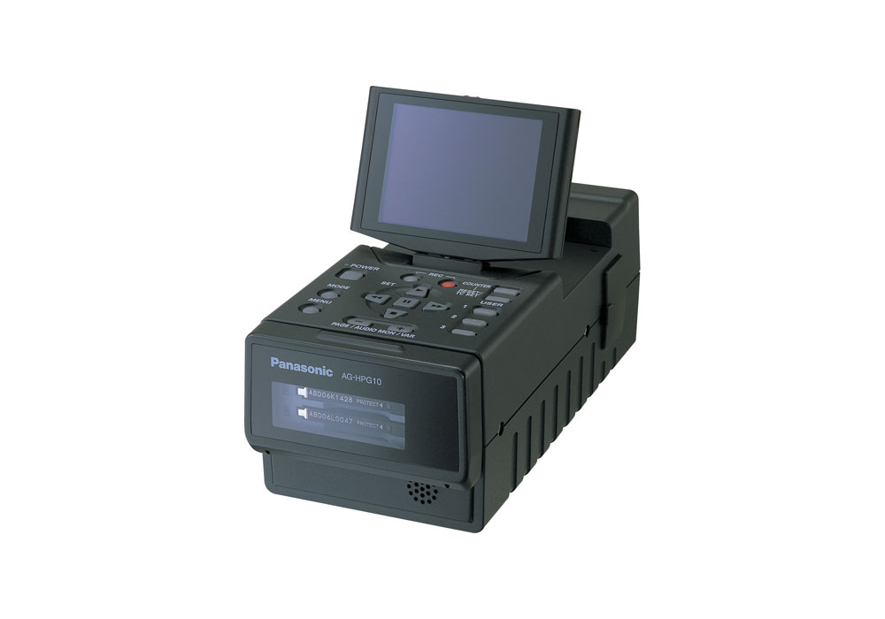 Panasonic AJ-HPG10E Field P-2 Card reader/writer with LCD screen