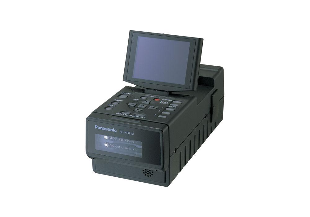 Panasonic AJ-HPG10E Field P-2 Card reader/writer with LCD screen