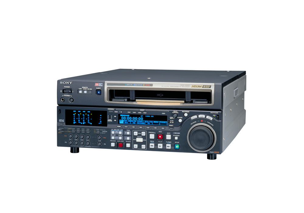 Sony HDW-D2000 High Definition VTR