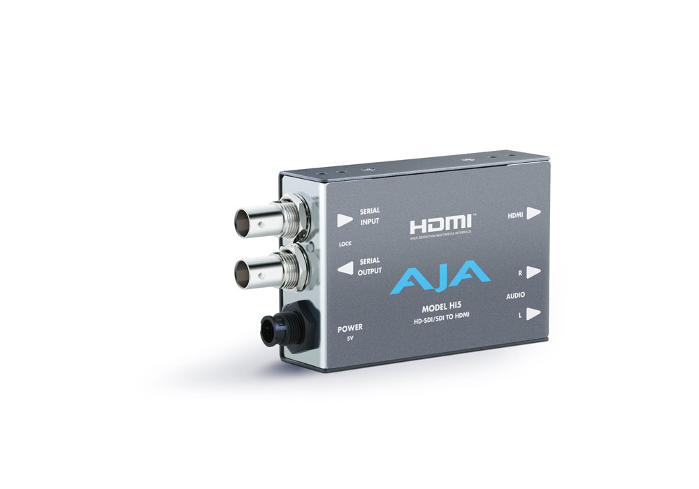 AJA Hi5 HD/SD SDI to HDMI convertor