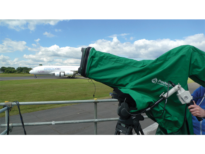 Presteigne Broadcast flies high at Farnborough