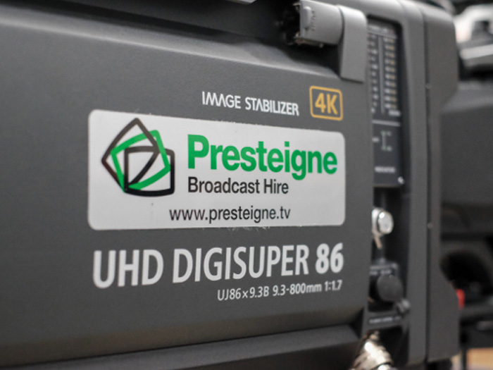 Presteigne Broadcast Hire invests more than £2M in 4K