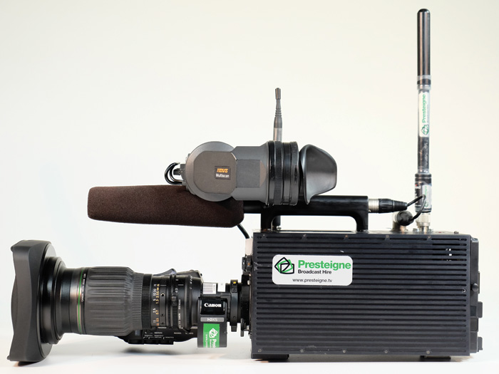 Presteigne adds new options for SC100 RF camera system