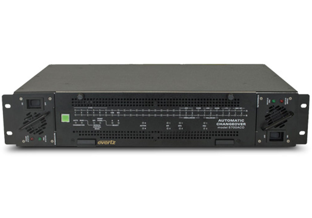 Evertz 5700ACO Auto changeover System