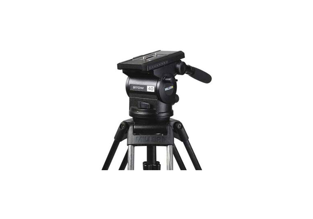 Miller Arrow 40 Tripod Complete Kit