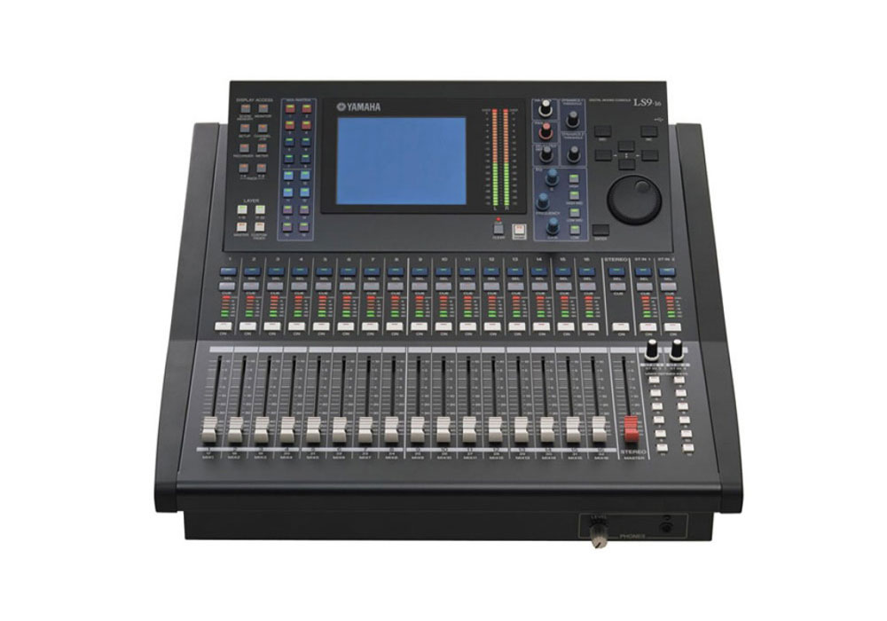 Yamaha LS9-16 Digital Audio Mixer 32 Channel