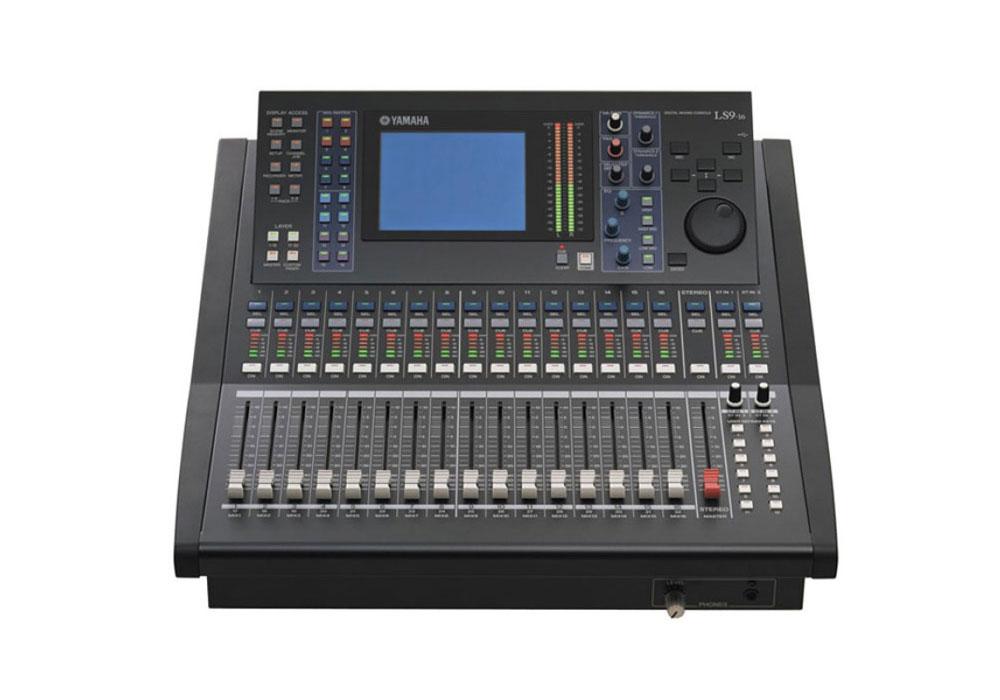 presteigne broadcast hire yamaha ls9 16 digital audio mixer 32 channel. Black Bedroom Furniture Sets. Home Design Ideas