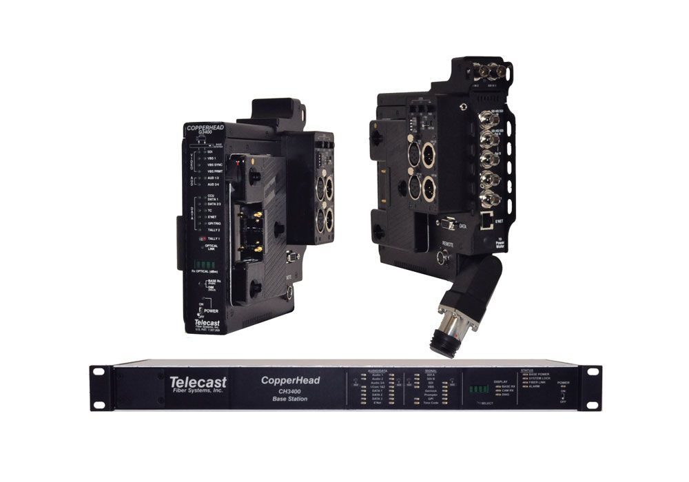 Telecast Copperhead 3400 Camera Mountable Fibre Optic System