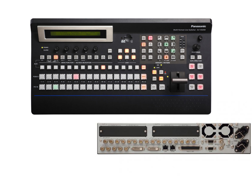 Panasonic AV-HS450 HD/SD Multi Format Switcher (SG)