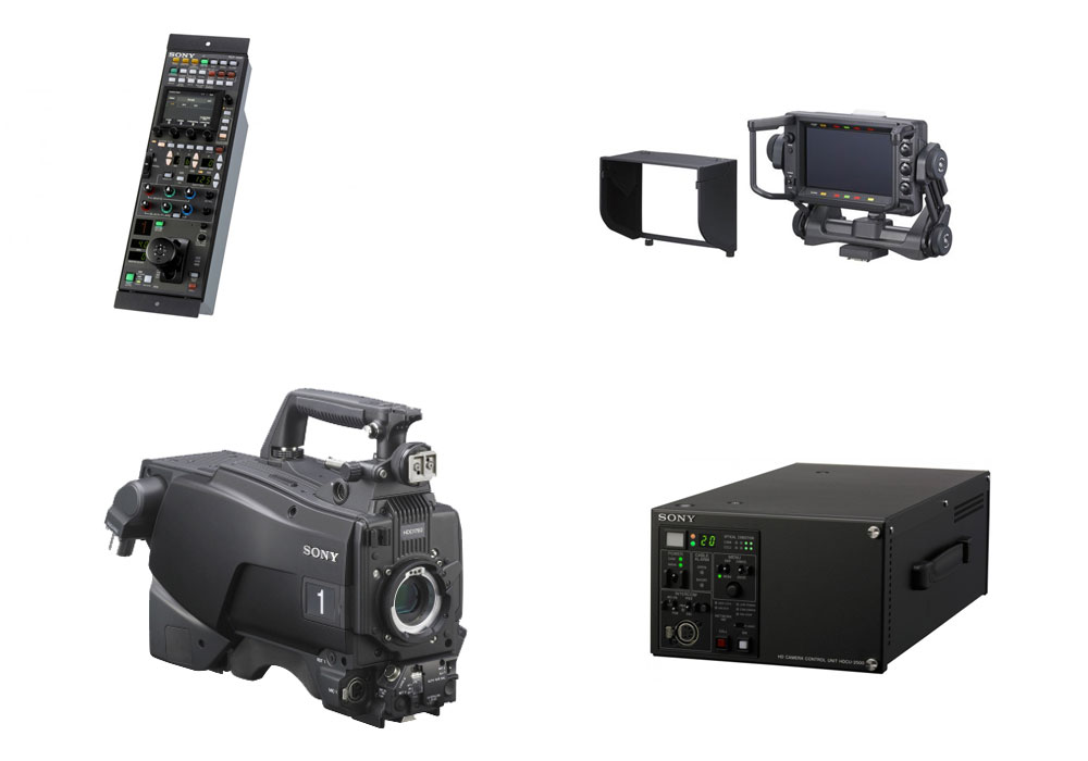 Sony HDC-2500 Camera Channel (with RCP-1500 and HDCU-2500)