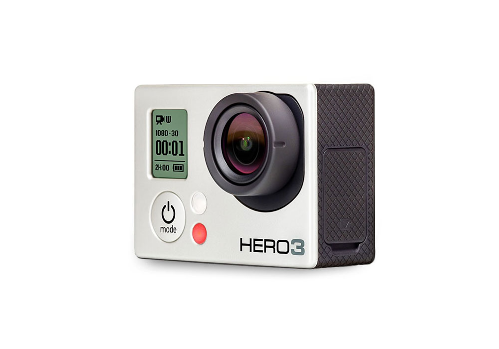 GoPro HD Hero 3 Silver Camera