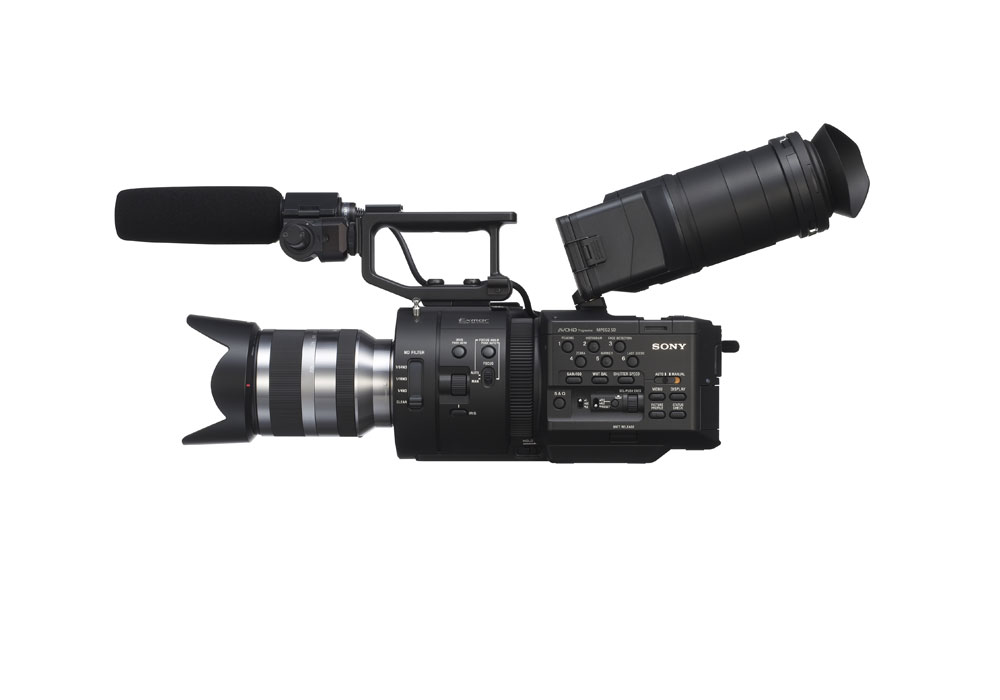 Sony NEX-FS700 Large Sensor HD Camcorder