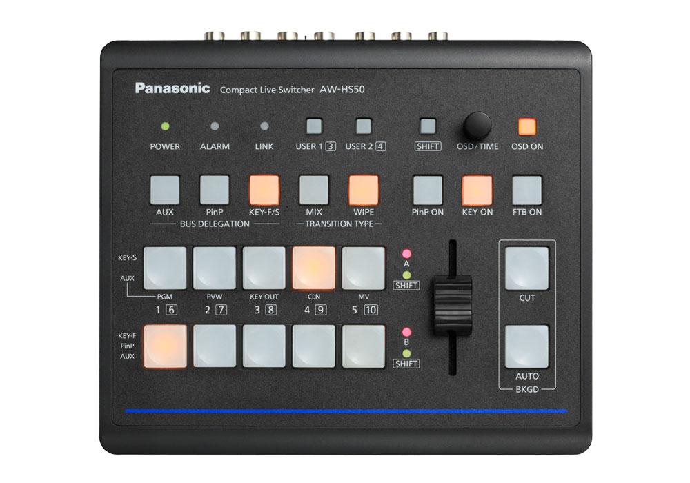 Panasonic AW-HS50 Compact Live Switcher