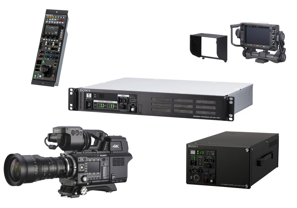 Sony PMW-F55 Live Broadcast Option Kit