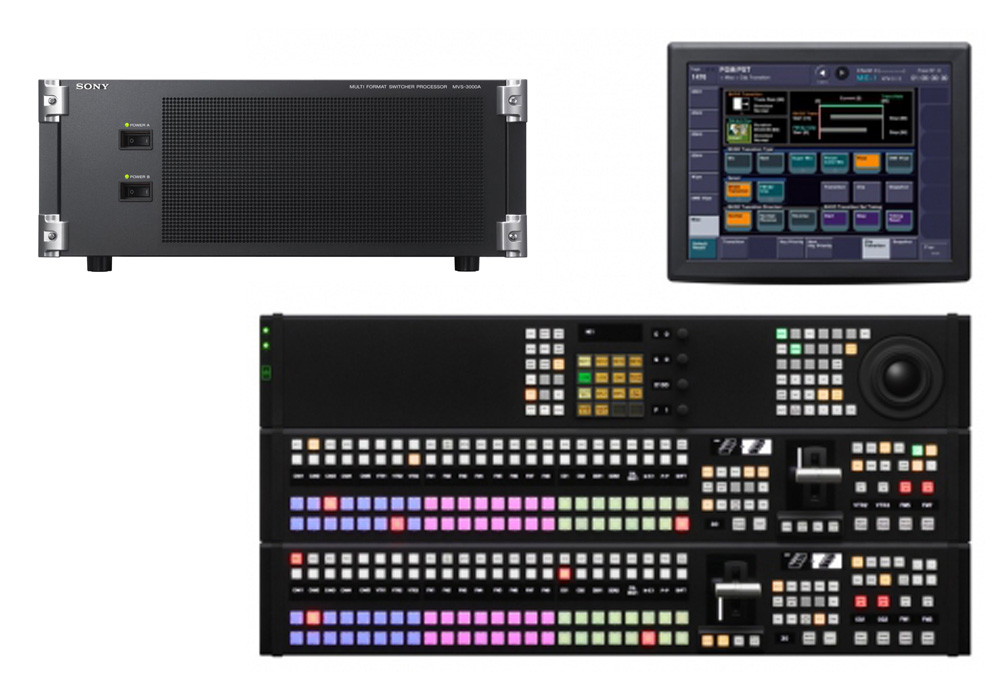 Sony MVS-3000A Multi-Format Vision Mixer