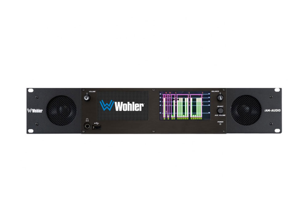 Wohler iAM Audio-2-DANTE/MADI/SDI/AES/Analogue Audio Monitor