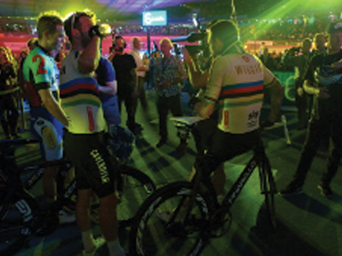 Presteigne on a roll with Six Day Amsterdam cycling
