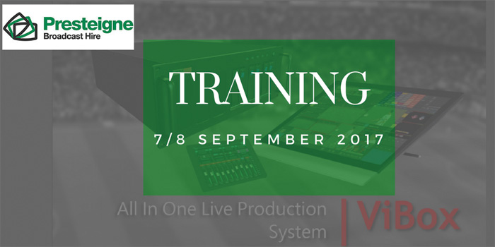 FREE TRAINING by SimplyLive, hosted by Presteigne Broadcast Hire